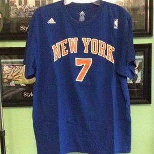 Adidas Knicks Carmelo Anthony T-shirt Size XL